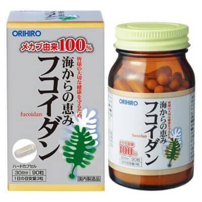 Tảo nâu Fucoidan orihiro giá bao nhiêu