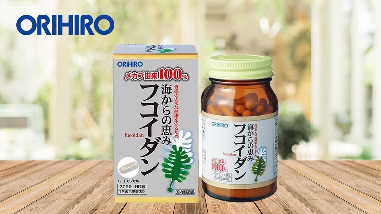 Tảo Fucoidan orihiro được sản xuất bởi công ty 50 năm kinh nghiệm