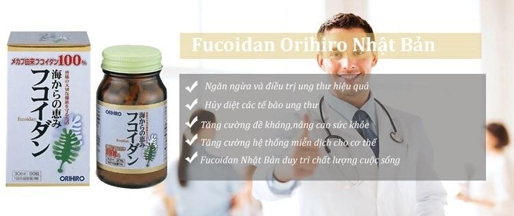 Công dụng của Orihiro Fucoidan