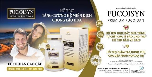 Fucoisyn hỗ trợ ung thư, giảm tác dụng phụ hóa xạ trị