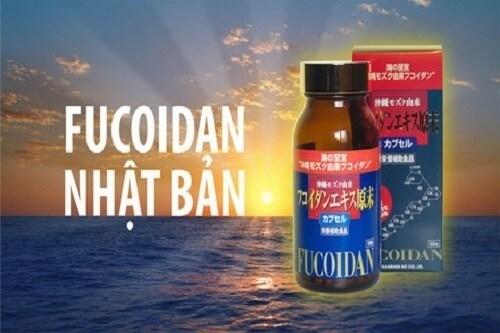 Fucoidan Okinawa Kanehide Bio màu đỏ 150 viên sản xuất bởi công ty uy tín