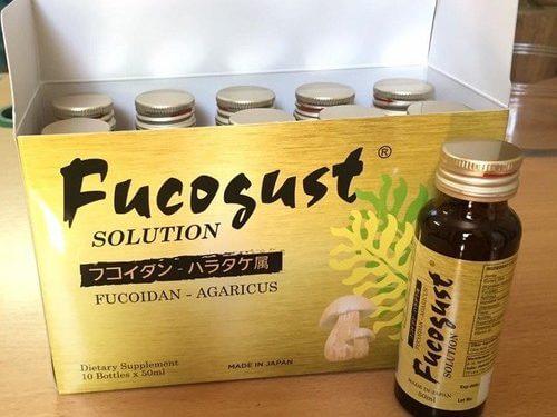 Fucoidan dạng nước dễ uống và hấp thu nhanh hơn hẳn dạng viên