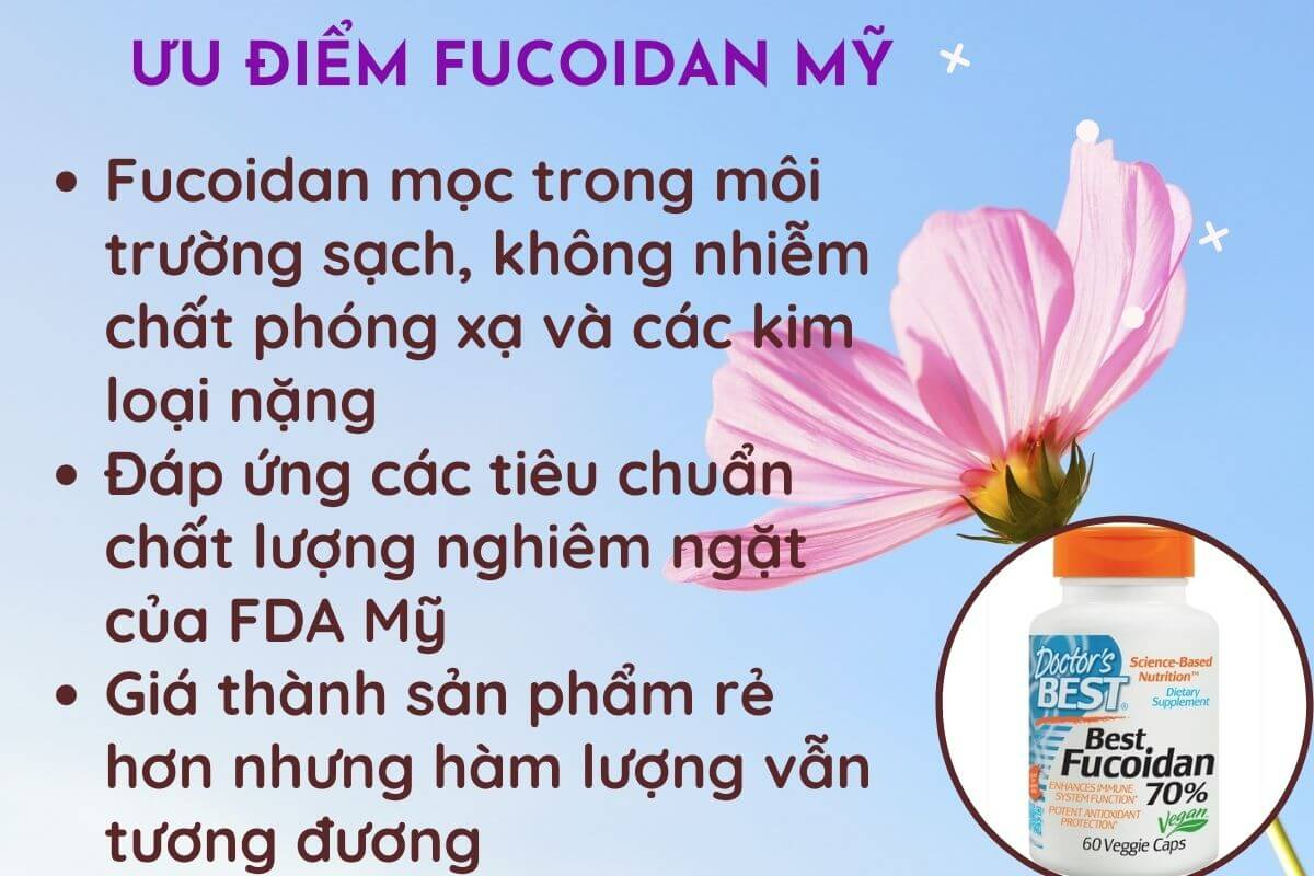 Fucoidan của Mỹ có tốt không? 3 ưu điểm nổi bật so với Fucoidan Nhật