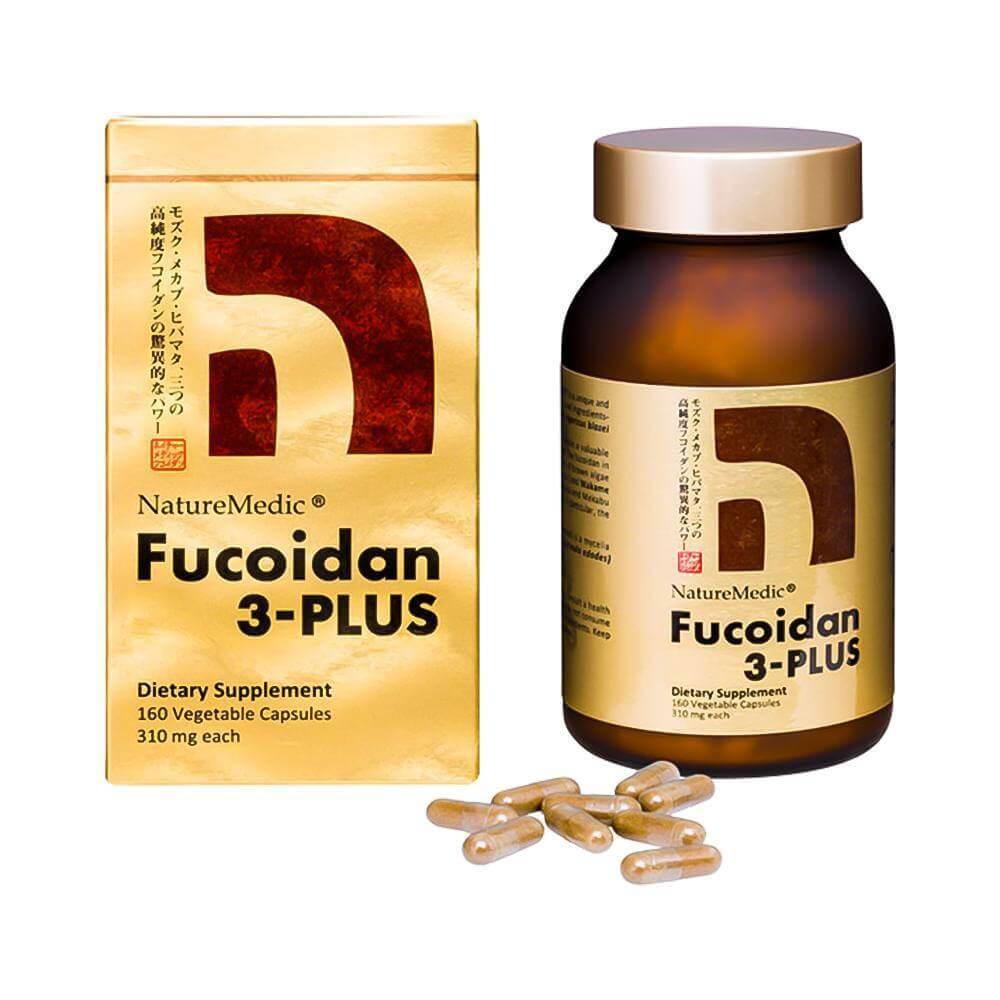 Fucoidan 3 plus dạng viên: kết hợp 3 loại tảo nâu với hàm lượng cao