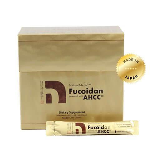 Fucoidan AHCC dạng nước: tác dụng vượt trội từ bộ ba Fucoidan, AHCC và agaricus