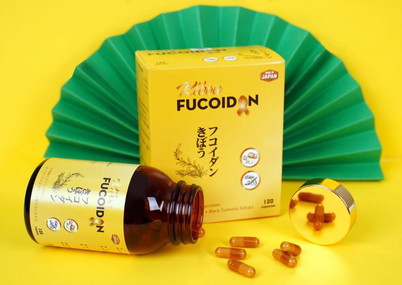 """Kibou Fucoidan - sự kết hợp lần đầu tiên giữa """"bộ 3 chống ung thư"""": Fucoidan, Nghệ đen và Nấm Agaricus"""
