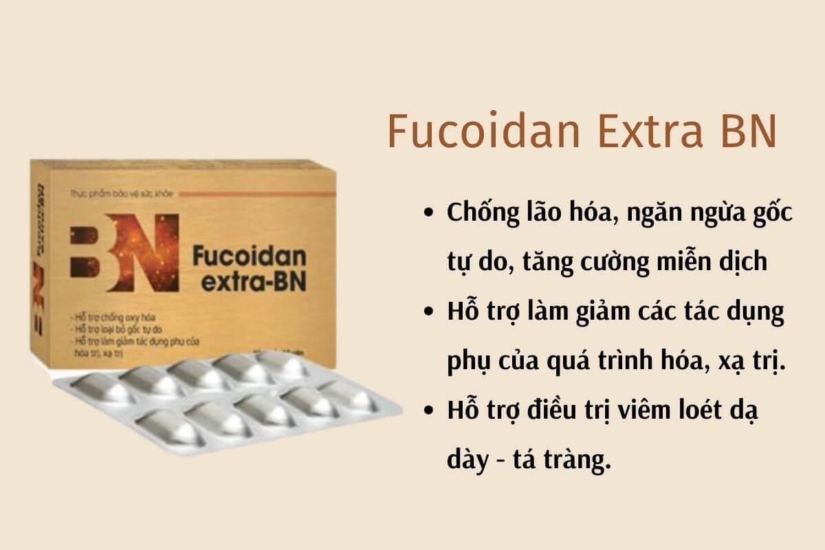 Fucoidan Extra BN - công dụng