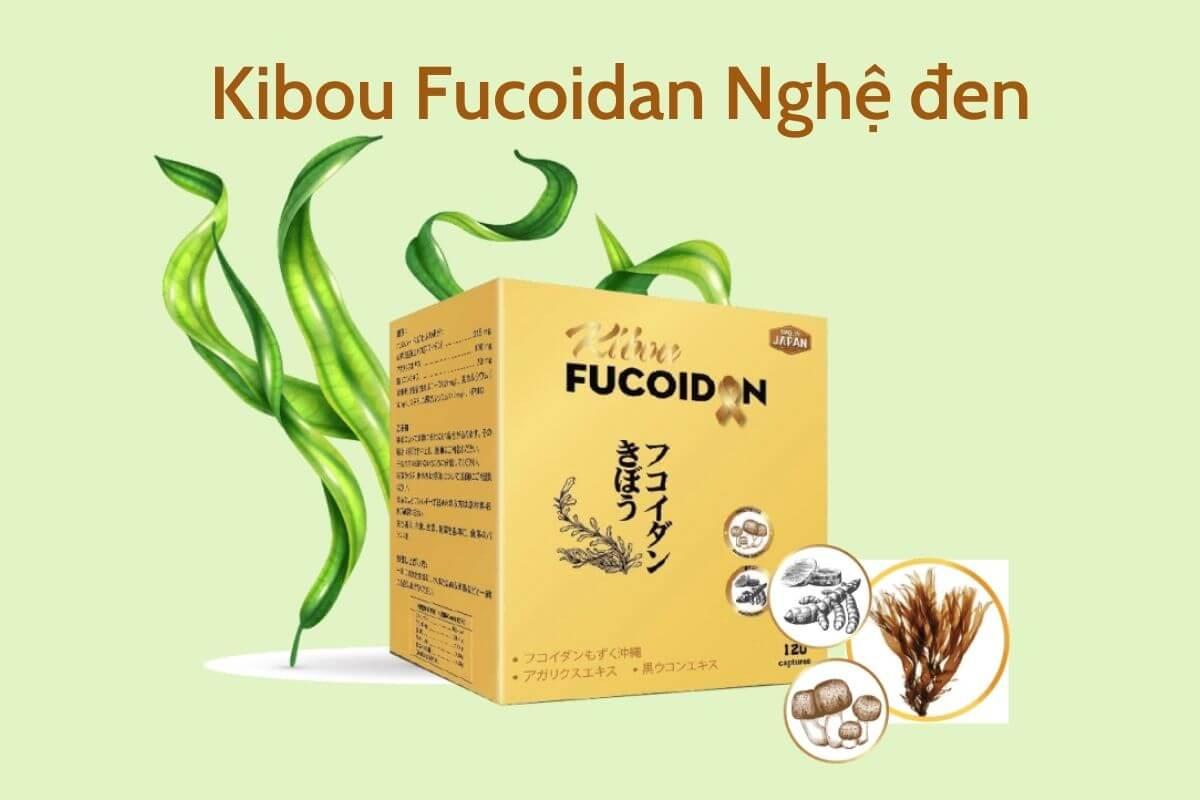 Kibou Fucoidan Nghệ đen