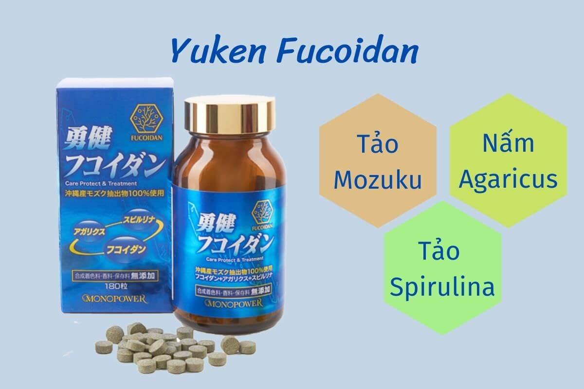 Thông tin về Yuken Fucoidan Nhật Bản