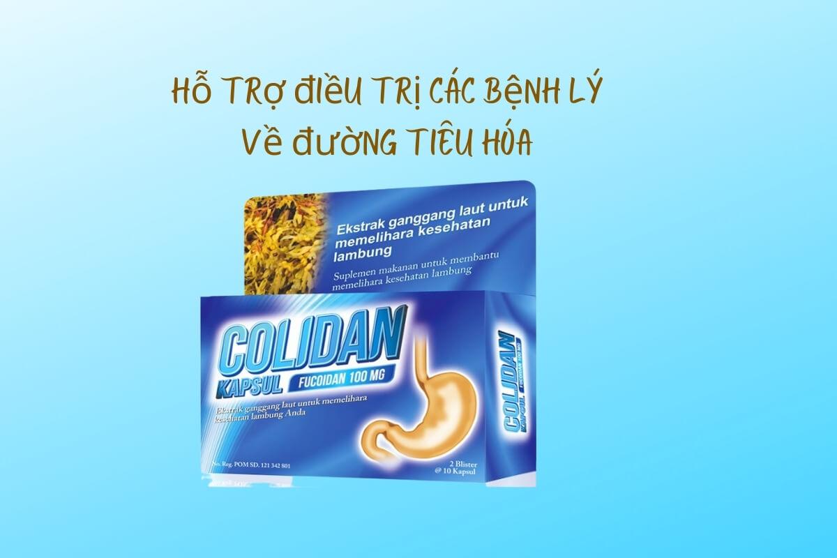 Thông tin về Colidan Fucoidan