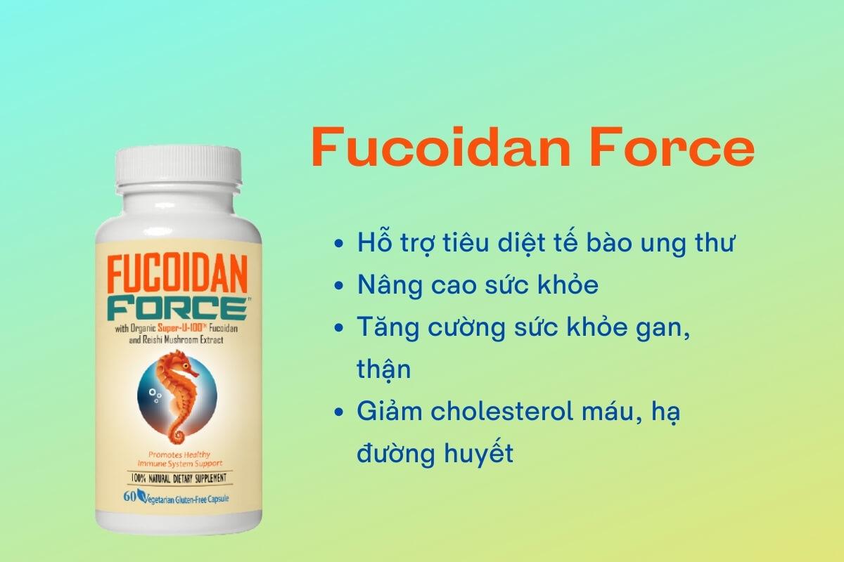 Thông tin về sản phẩm Fucoidan Force