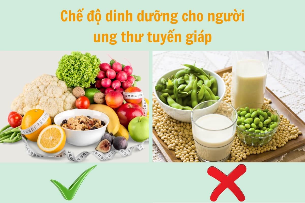 Chế độ dinh dưỡng cho bệnh nhân ung thư tuyến giáp