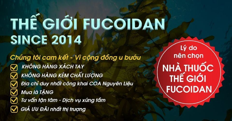 Nhà thuốc Thế giới Fucoidan