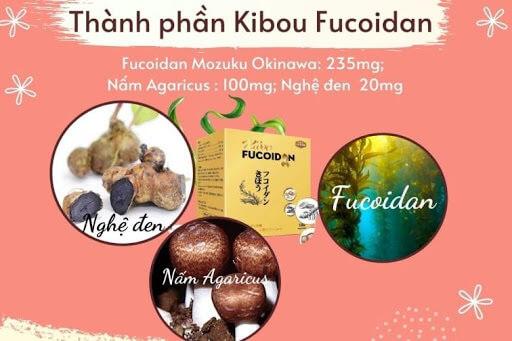 Fucoidan kết hợp với nấm Agaricus và nghệ đen cho tác dụng chống ung thư rất cao