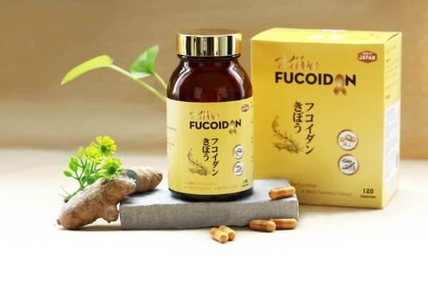 Kibou Fucoidan Nghệ đen – Sản phẩm nổi bật cho người bị ung thư gan