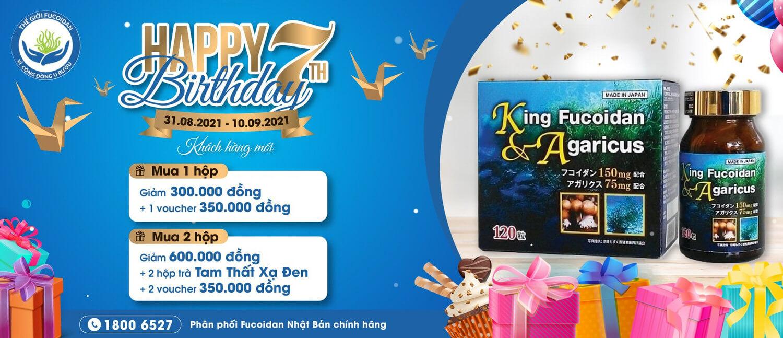 Chương trình khuyến mại King Fucoidan