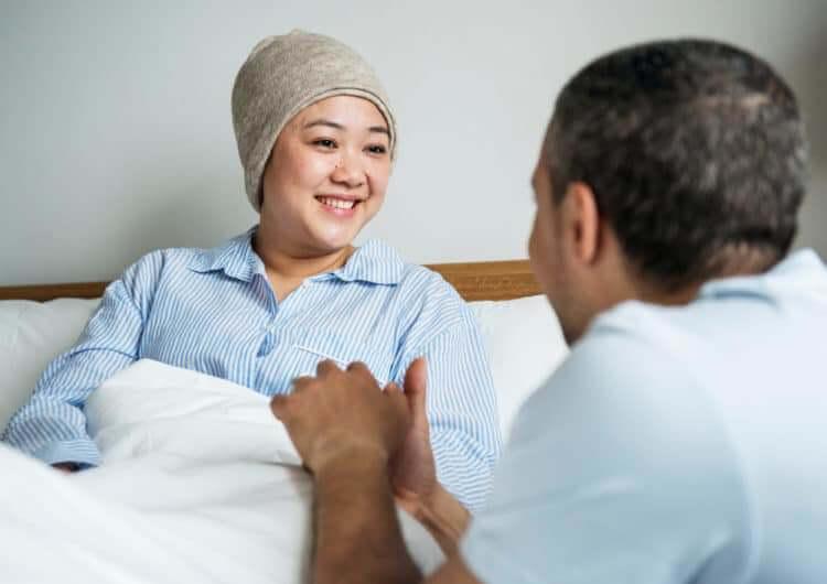 Nụ cười của bệnh nhân ung thư