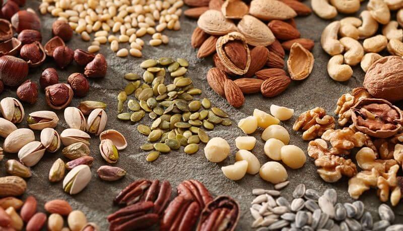 Thực đơn cho người hóa trị nên bổ sung các loại hạt
